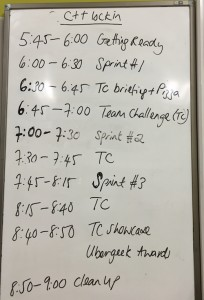 C++Schedule